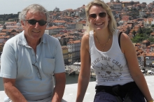 Ferdi and daughter Saskia cropped