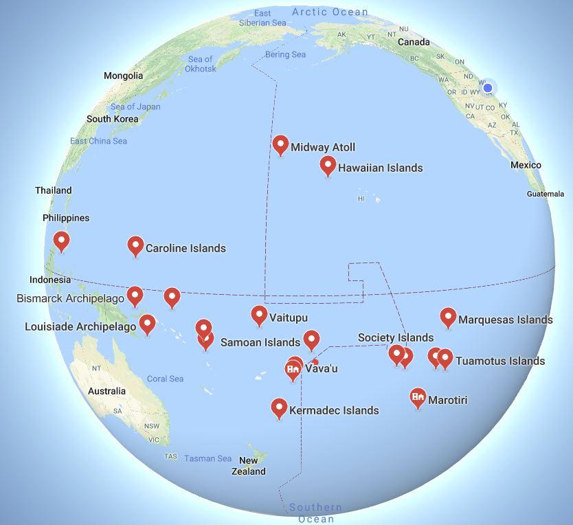 archipelago island group in Polynesia 112118