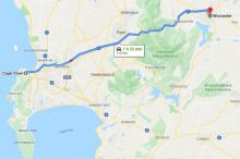 Map-Worcester-to-Cape-Town-102619
